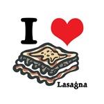 I Heart (Love) Lasagna