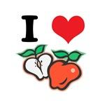 I Heart (Love) Apples