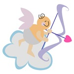 Cute Pastel Love Cupid