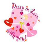 Dizzy In Love Valentine Design