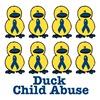 Child Abuse Awareness Ribbon Ducks
