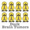 Brain Tumors Awareness Ribbon Ducks