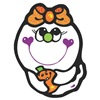 Baby Girl Ghost & Pumpkin