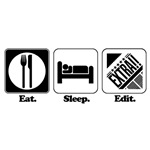 Eat. Sleep. Edit. (Newspaper Editor)