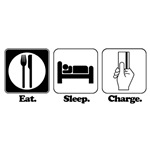 Eat. Sleep. Charge. (Shop)