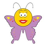 Butterfly Smiley Face