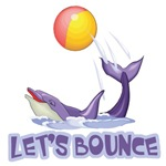 Let's Bounce Dolphin With Ball