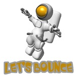 Let's Bounce Astronaut