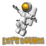 Let's Bounce Astronaut