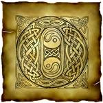 Celtic Knotwork Letter O