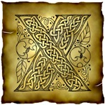 Celtic Knotwork Letter X