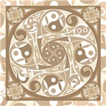 Celtic Stepping Stone Linens