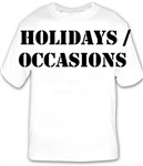 HOLIDAYS/OCCASIONS