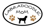 Labradoodle Mom Oval