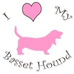 I Heart (Love) My Basset Hound
