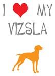 I Heart My Vizsla