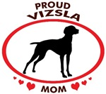 Proud Vizsla Mom