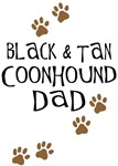 Black & Tan Coonhound Dad