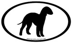 Bedlington Terrier Oval