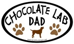 Chocolate Lab Dad