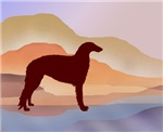 Mountain Mirage Borzoi