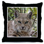 Bobcat Throw Pillows