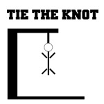 Funny Tie the Knot Bachelor Party T-Shirts