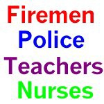 Nurses, Firemen, Police, Teacher Gifts