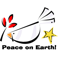 Peace on Earth Dove T-Shirts Gifts