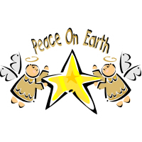Peace on Earth Angels T-Shirts Gifts