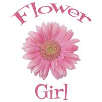 Flower Girl Wedding Apparel Gerber Daisy