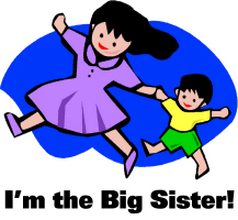 Chinese Adoption I'm the Big Little Sister T-Shirt