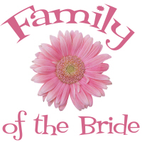Family of the Bride Gerber Daisy Wedding T-Shirts