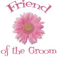 Friend of the Groom Daisy Pink Wedding Apparel