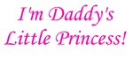 Daddy's Little Princess!