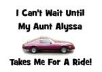 Aunt Alyssa - Camaro Ride