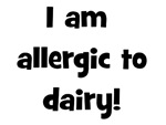 Allergic to Dairy - Black