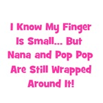 Nana & Pop Pop Wrapped Around Finger