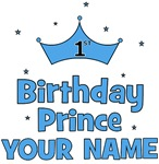 CUSTOMIZED 1st Birthday Prince ANY NAME