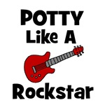 Potty Like A Rockstar with Guitar