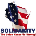 Solidarity - State Flag - Union Keeps Us Strong -
