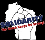 Solidarity - White State - Fist