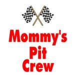 Biker Baby Pit Crew Mom