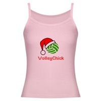 VolleyChick Logo Holiday