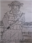 Miss Navajo Churro