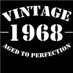 vintage 1968 birthday