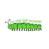 caterpillar big brother green