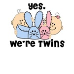 Sweet TWINS Bunny Slippers