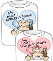My Heart Belongs to Abuela T-Shirt GIRL & BOY