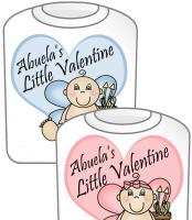 Abuela's Little Valentine T-Shirt  GIRL & BOY